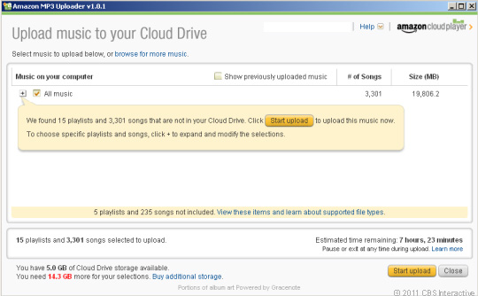 upload music to your amazon cloud drive