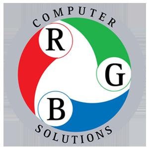 rgb computer solutions round logo transparent background