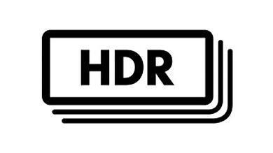 digital camera HDR image