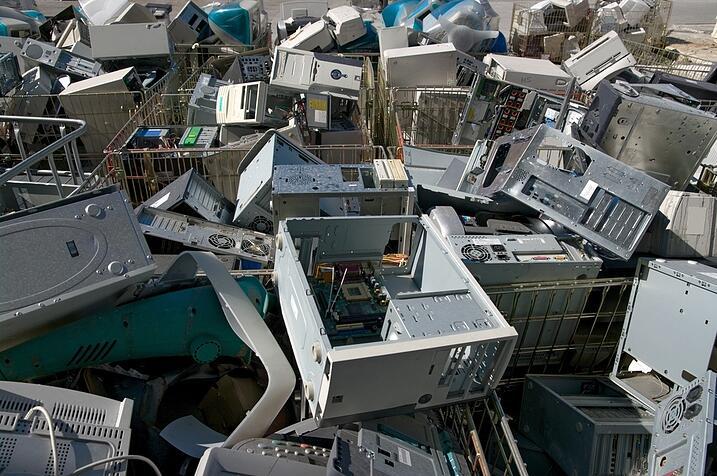dangers of computer disposal