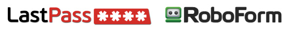 lastpass and roboform for secure password protection