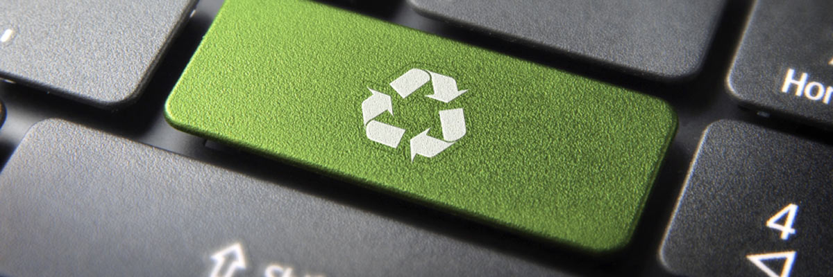 device sustainability, recycle computer keyboard
